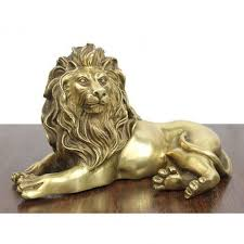 metal lion statue brass lion statue bedroom living room office decoration gifts