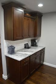Kitchen Cabinets Cherry Finish 36 Best Kitchens Dark Brown Images On Pinterest Dark Brown