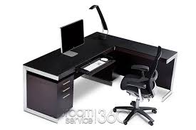Modern Espresso Desk Sequel Office Suite By Bdi Room Service 360