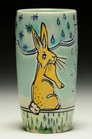 ceramic nature rabbit table l 281 best ceramic rabbits images on pinterest bunnies ceramic art
