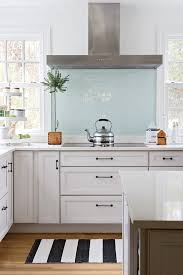 light blue kitchen backsplash absolutely gorgeous kitchen steel appliances white cabinets
