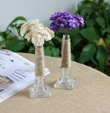 metal flower vases home decoration home flower pots planters