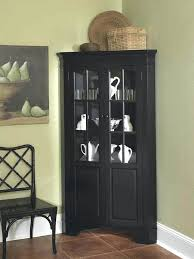 black corner china cabinet corner china cabinets and hutches partedly info