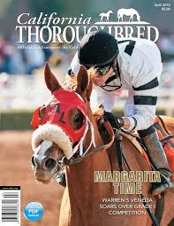 California Flag Horse California Thoroughbred Magazine October 2016 By Ctba Issuu