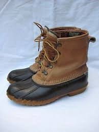 s bean boots size 9 s l l bean boots duck boots thinsulate tex insulated