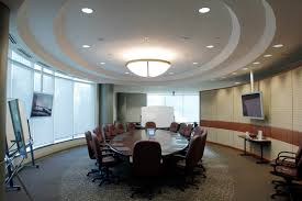 Conference Room Design Ideas Captivating Oval Eye Conference Room Featuring Steel Base Display