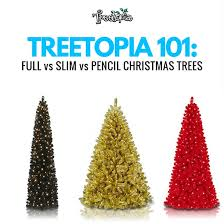 tree 101 vs slim vs pencil tree