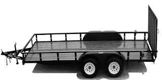 8x12 utility landscape trailer plans instructions u0026 bom save