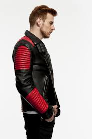 red motorcycle jacket mason u0026 cooper black u0026 red motorcycle 29 u201d zip jacket a j ugent furs