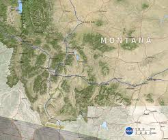 Montana State Map by Svs 2017 Eclipse State Maps
