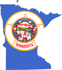 Minnesota Zip Code Map by Minnesota Flag Map U2022 Mapsof Net