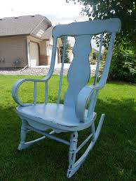 Teal Rocking Chair Saved By Suzy Antique Rocking Chair