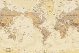 Wall Murals Australia World Map Wallpaper Mural Group 0