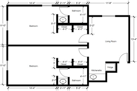 room floor plan residence at samford