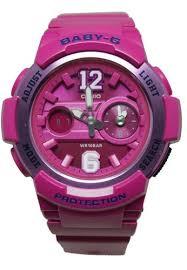 Jam Tangan Baby G jual baby g casio jam tangan baby g bga 210 4b2dr pink original