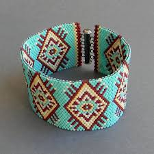 beaded cuff bracelet patterns images Seed bead bracelet ideas 4 jpg