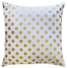 gold polka dot pillow gold pillow nursery pillows