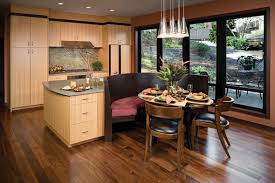 Kitchen Island With Built In Seating Island With Seating Bench Regarding Contemporary House Kitchen
