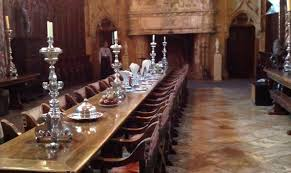 The Refectory Or Dining Room At Hearst Castle - Hearst castle dining room