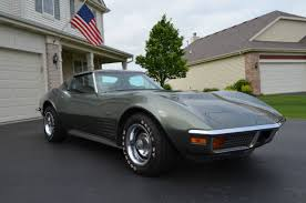 1972 corvette stingray 454 for sale chevrolet corvette coupe 1972 silver for sale 1z37w2s524229 1972