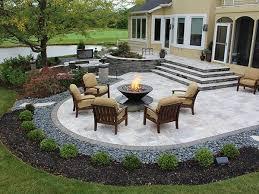 Backyard Patio Stones Backyard Stone Patio Designs Of Worthy Best Paver Patio Designs