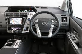 lexus ct hybrid vs toyota prius v toyota prius v i tech luxury variant for hybrid people mover