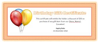 microsoft word templates download birthday gift certificate template for word birthday voucher