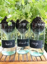 diy self watering herb garden best 9 simple self watering planters to reduce gardeners workload