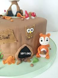 gateau anniversaire animaux gâteau animaux de la forêt 2 dby u0027s cake