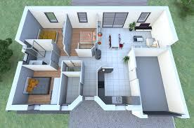 faire une chambre en 3d merveilleux plan de maison plain pied 3 chambres gratuit 8 plan