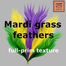 mardi gras feathers second marketplace mardi gras feathers texture