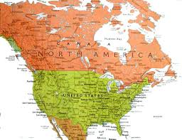 Northern Canada Map Map Of North West Usa Maps Of The World Maps Of Continents