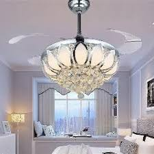 Ceiling Fan Crystal by Modern Nordic Dining Room Ceiling Fan With Remote Control Electric