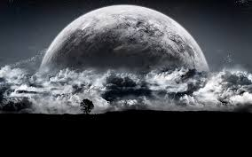 scary moon background 14759 sci fi hd wallpapers backgrounds wallpaper abyss