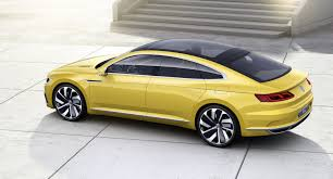 Volkswagen Gte Price New Vw Sport Coupe Concept Gte Slots Between Passat And Phaeton