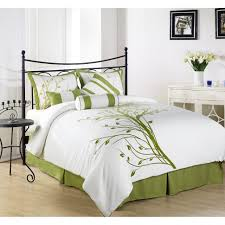 bedding set lime green and purple bedding sets green toile