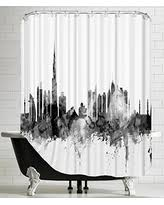 Skyline Shower Curtain Amazing Deal On American Flat