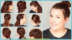 Frisuren Zum Selber Machen Schulterlanges Haar by Interessant Frisuren Für Schulterlanges Haar Mit Anleitung Deltaclic