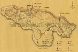 Map Of The Great Wall Of China by Jinshanling Maps Great Wall Forum