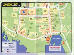 Disney Downtown Map Georgetown Grand Cayman Shopping Map Grand Cayman U2022 Mappery