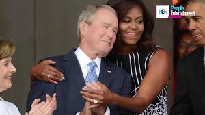 george w bush on affection for michelle obama u0027we just took to