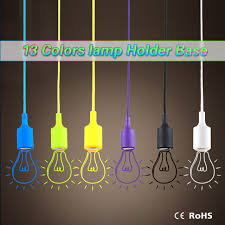 silicone light bulbs wholesale wholesale e27 silicone led l holder cord ceiling base silicone