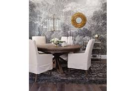 dining room table leaf covers combs extension dining table living spaces