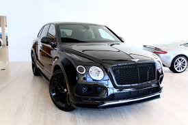 2018 Bentley Bentayga W12 Black Edition Stock 8n018676 For Sale
