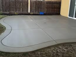 Color Concrete Patio by Exceptional Concrete Patio Finishes 1 Broom Finish Concrete Patio