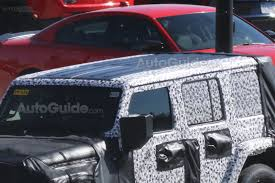2018 jeep wrangler jl 2 door spied zf 8 speed auto and other 2018 jeep wrangler spied with rumored u0027true three piece hardtop