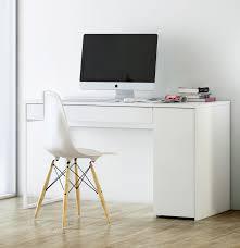 white modern office desk modern office desk by prado modern kasa