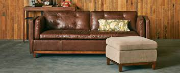 Leather Sofa Arlo Leather Sofa Tufted Back Brazilian Leather Sofa 84