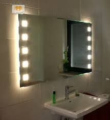 badspiegel led beleuchtung badezimmerspiegel 70 x 50 led badspiegel mit beleuchtung modell