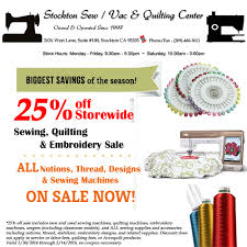 black friday embroidery machine deals stockton sew vac u0026 quilting center